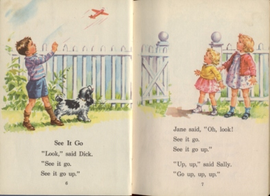 Dick and Jane pages