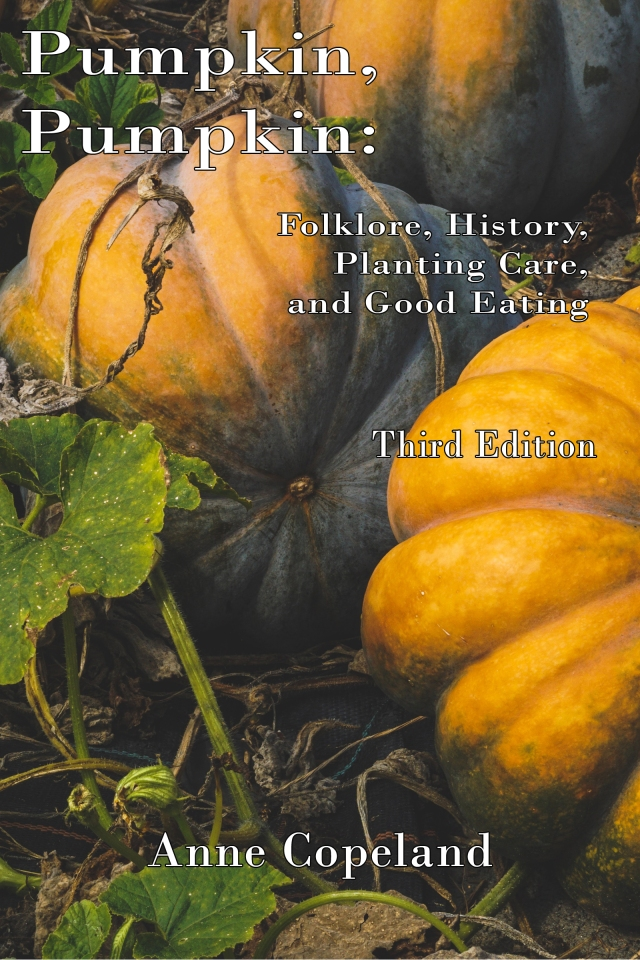 Book Cover Copeland Pumpkin Cookbook