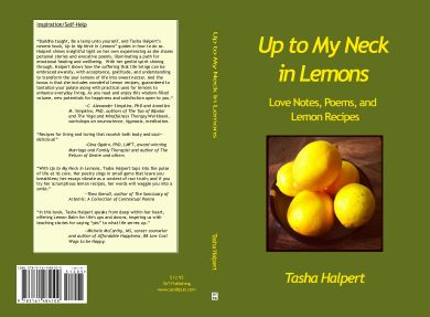 Up to My Neck in Lemons Book cover (Export)