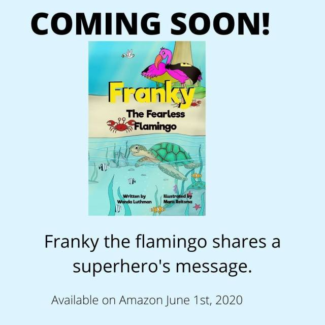 Franky the Fearless Flamingo
